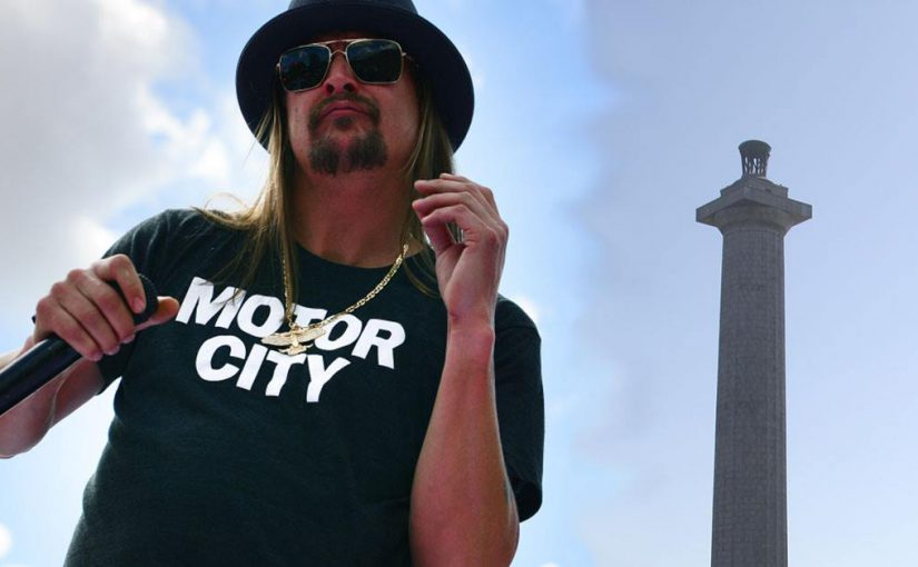 Kid Rock headlining August 29th's Bash On The Bay